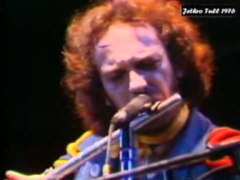 """Jethro Tull ~ my precious Ian Anderson performing """"Thick As a Brick"""" 1976"""