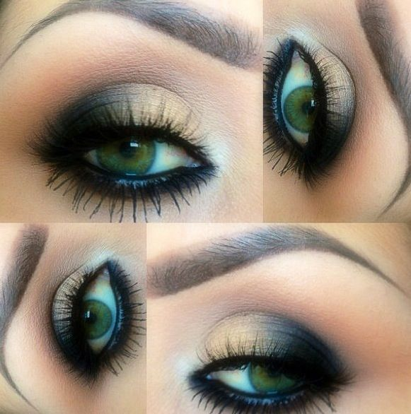 136 best images about Eye Makeup on Pinterest | Smoky eye ... Dramatic Black Eye Makeup