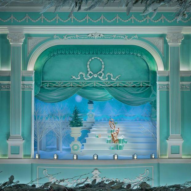 Tiffany & Co. christmas windows 2015