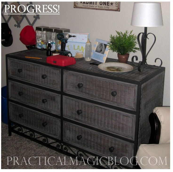 Painted Wicker Dresser Design Decorating 525930 Ideas