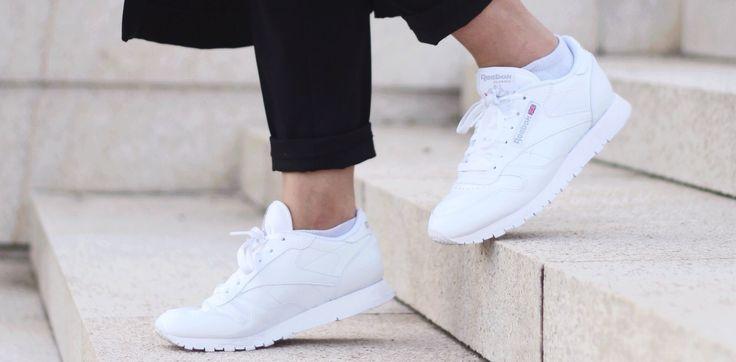 Dit is de goedkoopste manier om je witte sneakers weer schoon te krijgen, wauw!
