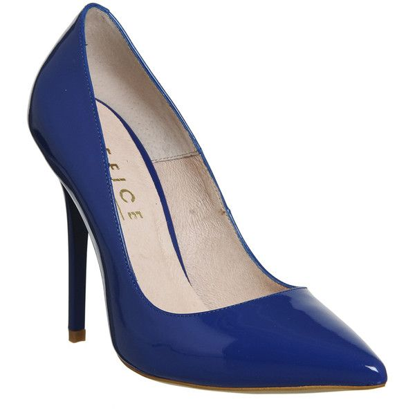 Office On To Point Courts ($91) ❤ liked on Polyvore featuring shoes, pumps - ιδέες για Royal Blue High Heels στο Pinterest Ψηλά