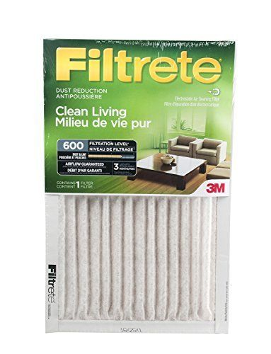 Filtrete Dust Reduction Furnace Air Filter MPR 600 16x25x1 6-Pack Filtrete Reduction Furnace Filter 16x25x1 is a top quality pick in the most popular items bought online in Home Improvement category in Canada. Click below to see its Availability and Price in YOUR country.