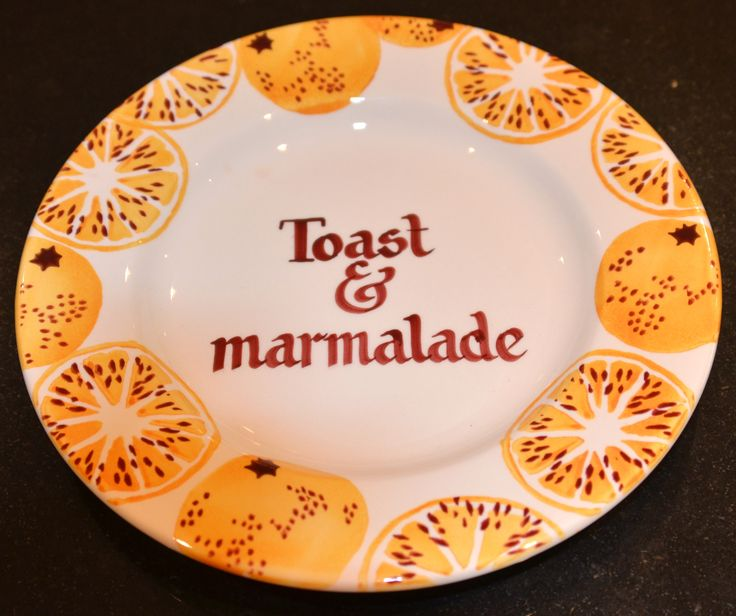 Personalised Marmalade 8.5 inch plate