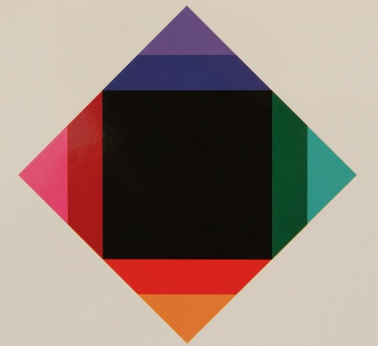 Raiiiinnnbow!! <3 | Max Bill 1972-1974 Zerstrahlung von Schwarz