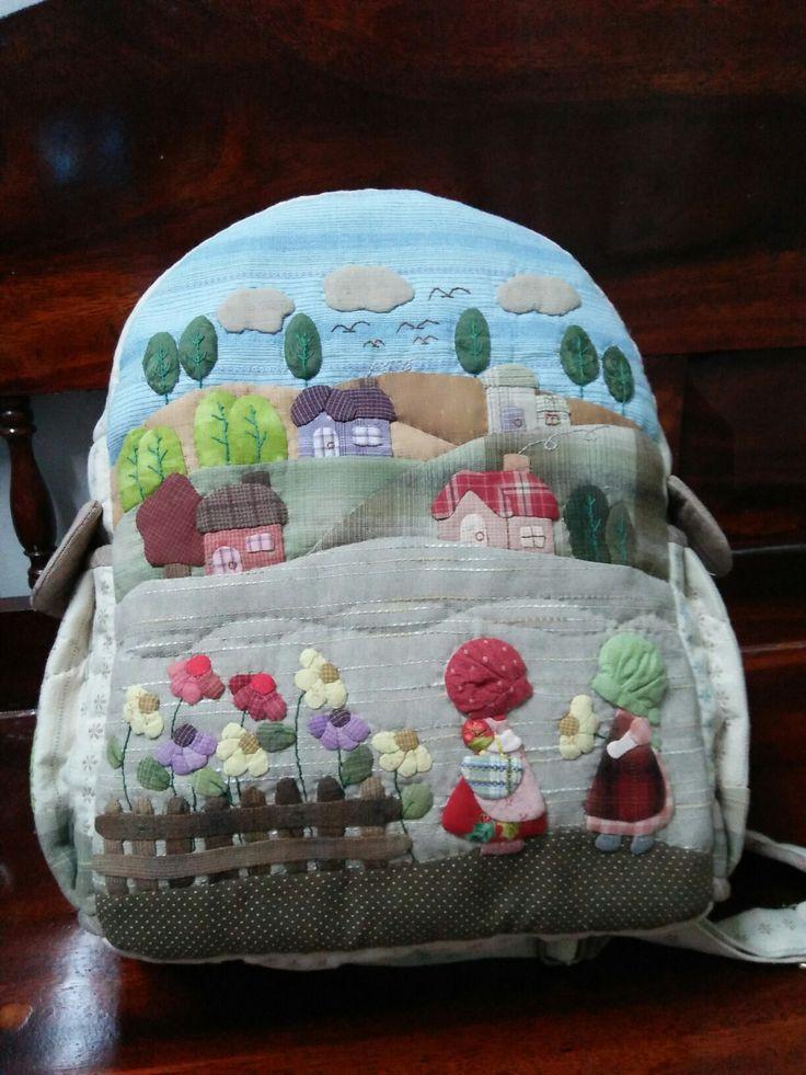 กระเป๋าเป้_Bagpack made by Pailin Taweewat