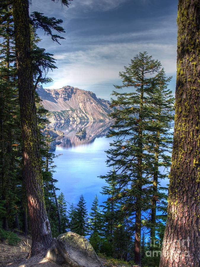 The beauty that is Crater Lake. Crater Lake National Park, southern Oregon