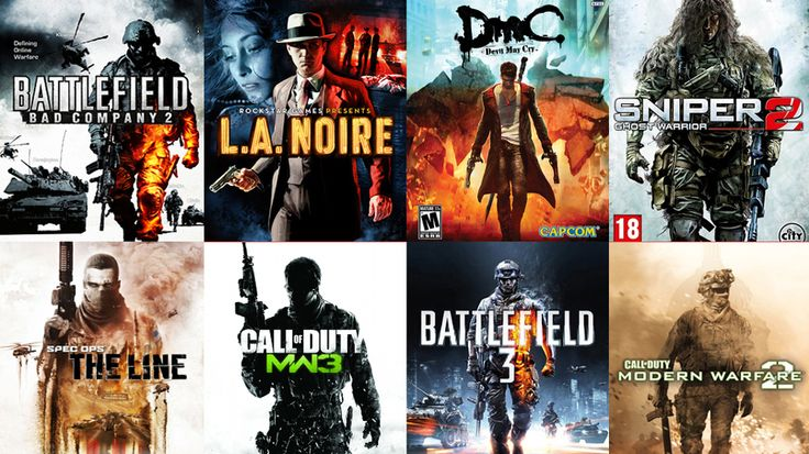 7 videogame packshot cliches we've probably had enough of now. The ...