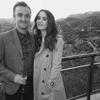Tom Felton and Jade Olivia Gordon :)