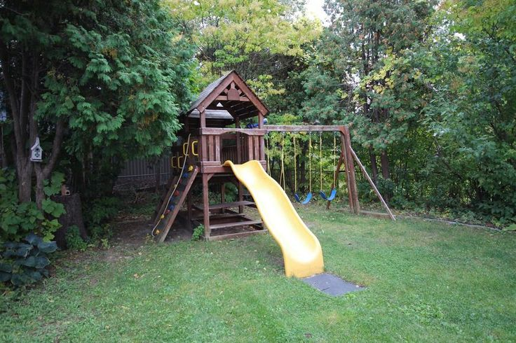 Backyard playstructure