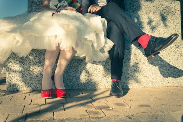 Un matrimonio a tema circo anni �50: Laura e Giampi
