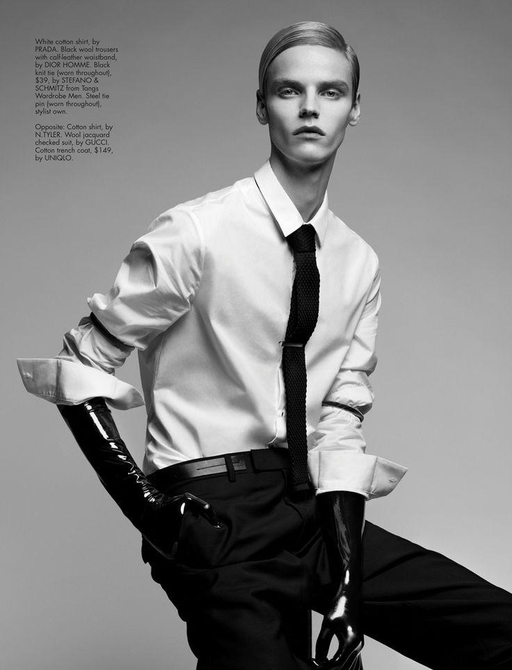 Bart Grein by Stefan Khoo for Style:Men