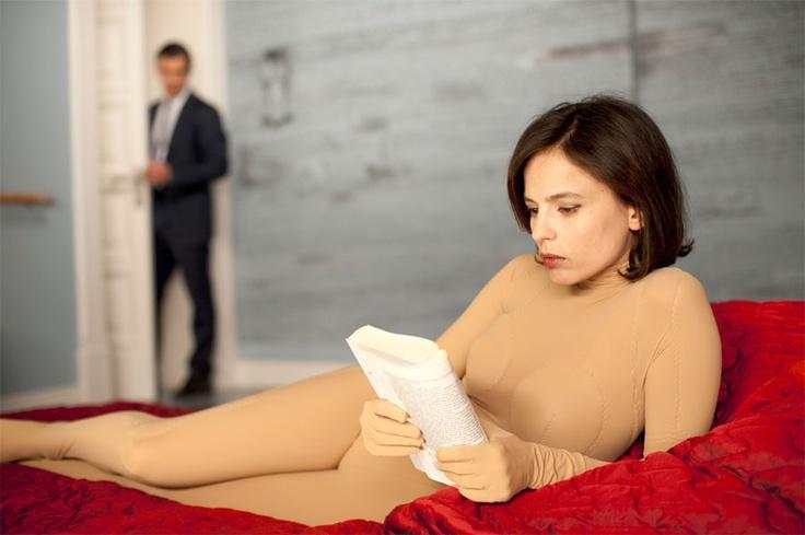 Elena Anaya in Almodovar's The Skin I Live In. Great actress, fantastic film.