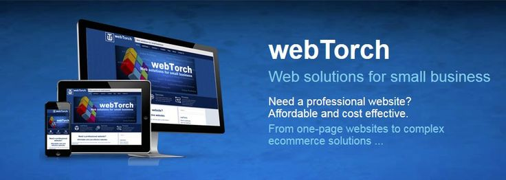 Need a professional website?  Affordable and cost effective.  Contact webTorch now for a quote and expand your business to new heights.
