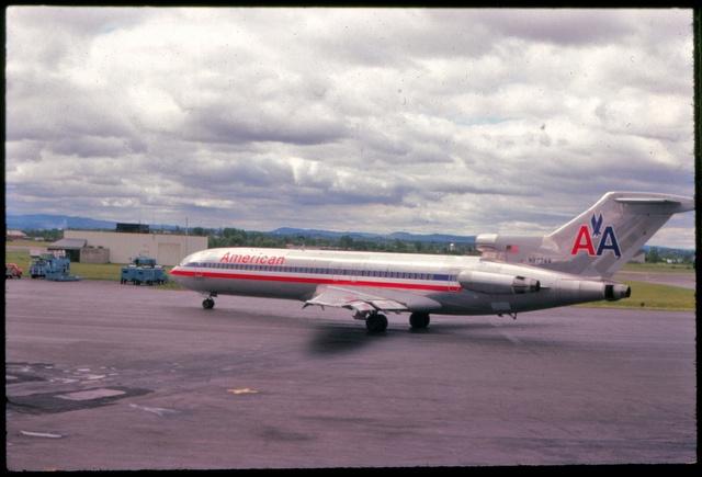 AA Boeing 727, Pittsburgh PA - 1979