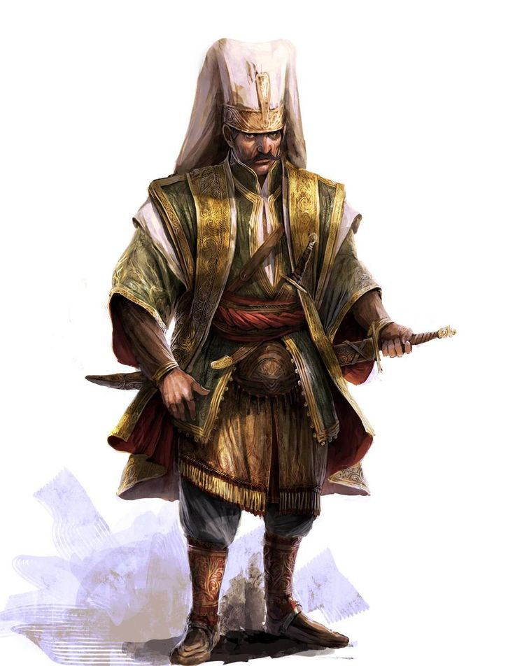 The janissaries are the Ottoman Empire's soldiers, they are very disciplined! Making the Ottoman army very powerful, they are trained specifically for battles! /tcc/