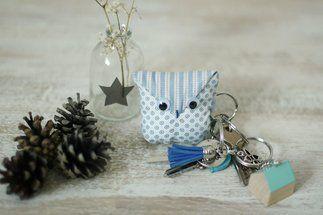 Tuto cadeau à fabriquer : un porte-clés chouette !