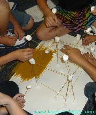 The Teacher Life: Spaghetti Marshmallow Towers: A Scientific Method Investigation