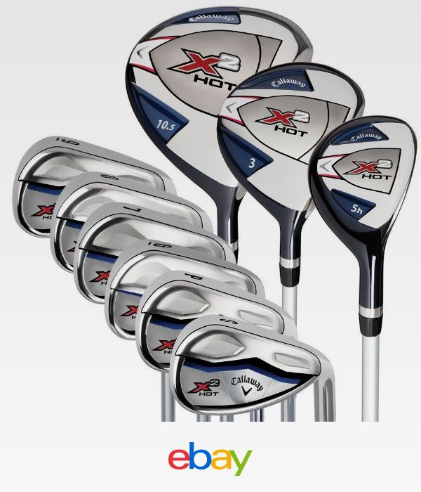 Callaway Golf 2016 X2 Hot 9-Piece Complete Set