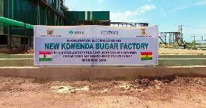 Private investors to take over Komenda Sugar Factory – Government