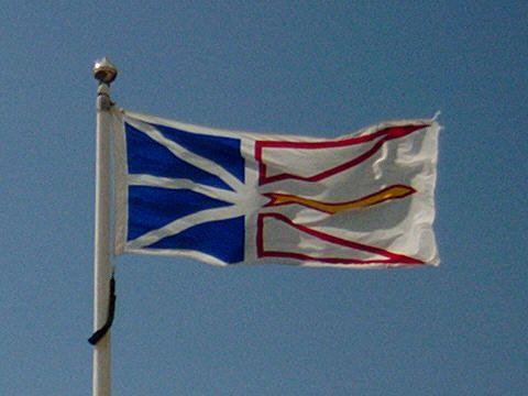 Flag of the province of Newfoundland and Labrador, Canada