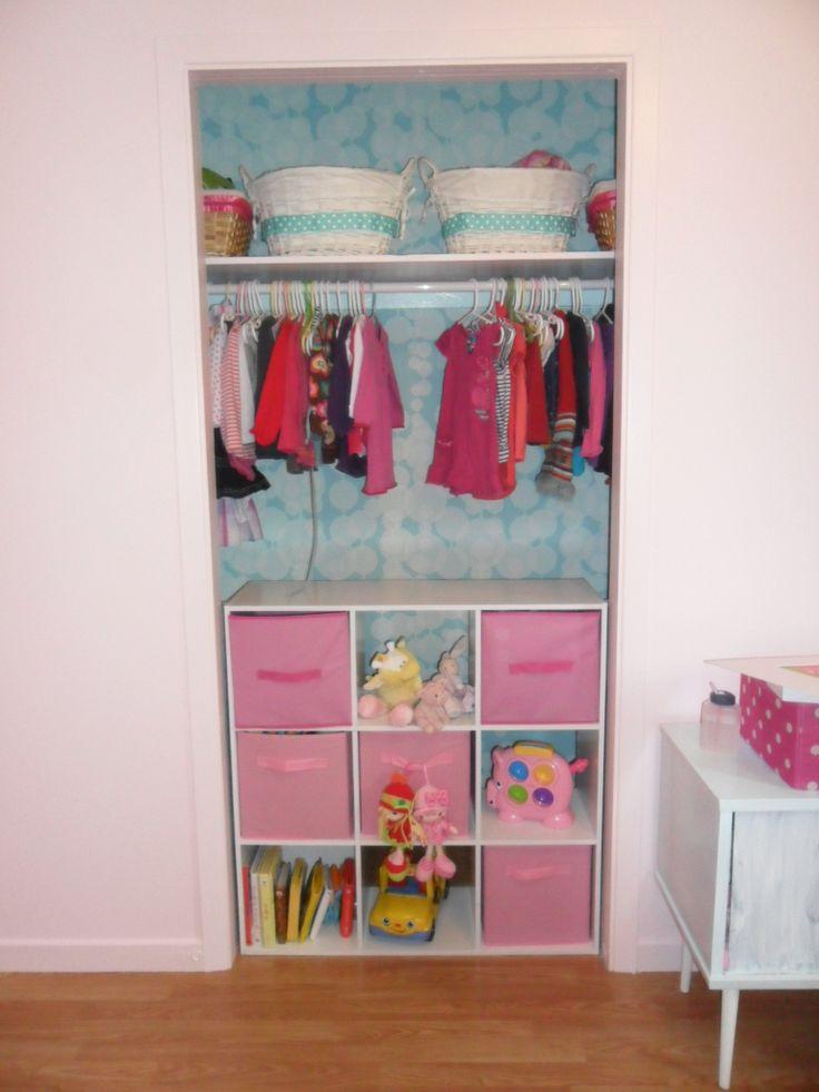 Les 17 meilleures images du tableau armoires sur pinterest for Organisation chambre enfant