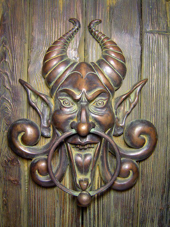 Doorknocker by Dimitri Filbert.