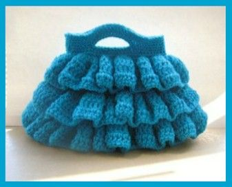 Bella Ruffled Bag - Free Crochet Pattern