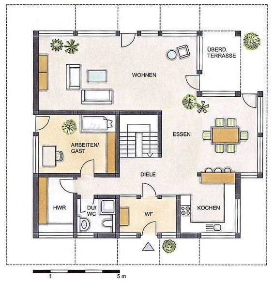 die besten 20 bauernhaus grundrisse ideen auf pinterest. Black Bedroom Furniture Sets. Home Design Ideas