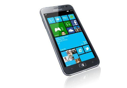 "Samsung Ativ S I8750 16GB Unlocked GSM Phone with Windows 8 OS, 4.8"" Super AMOLED Touchscreen, 8MP Camera + Secondary... $269.99 (save $230.00)"