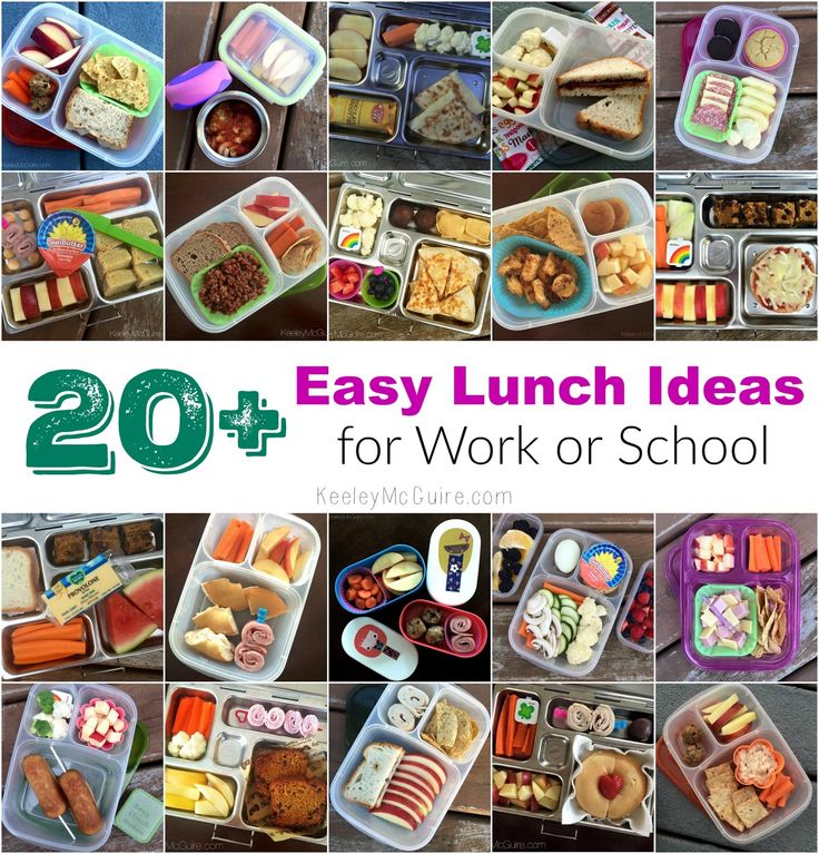 Gluten Free & Allergy Friendly: 20+ Easy Lunch Ideas for Work or School
