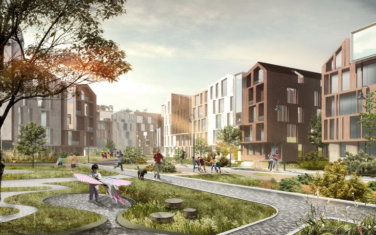 Зеленый город «София» | Архитектурная мастерская Атриум