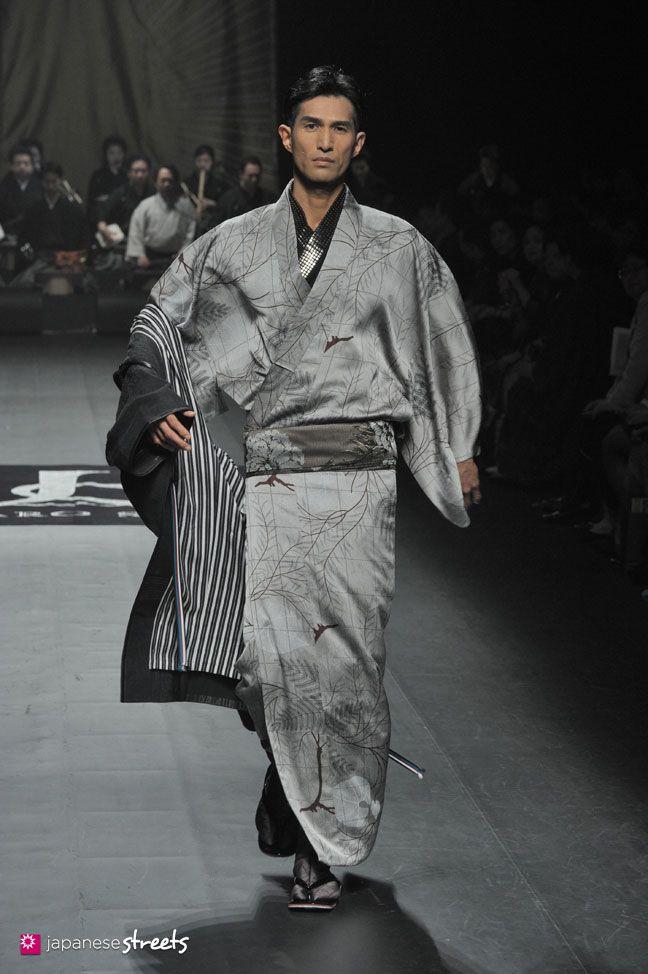 140319-7499 - Autumn/Winter 2014 Collection of Japanese fashion brand JOTARO SAITO on March 19, 2014, in Tokyo.