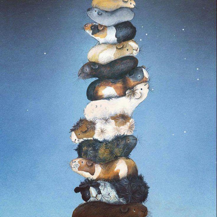Guinea Pig art