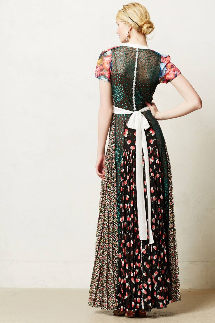 17 best images about malila on pinterest isabel marant for Anthropologie mural maxi dress