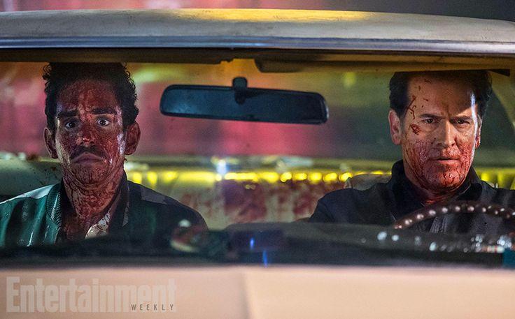 Sam Raimi drops intel on Ash vs Evil Dead (Ray Santiago Bruce Campbell)