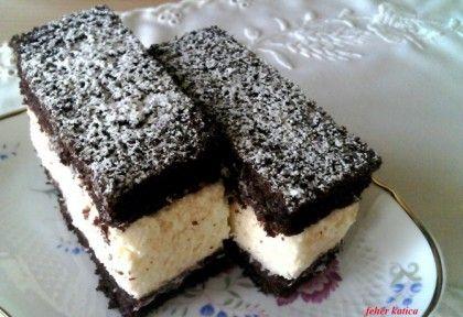 Habkönnyű grízes-kókuszos szelet   NOSALTY – receptek képekkel