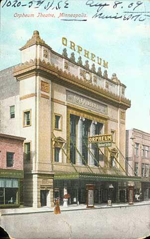 Orpheum Theater Minneapolis, Minnesota