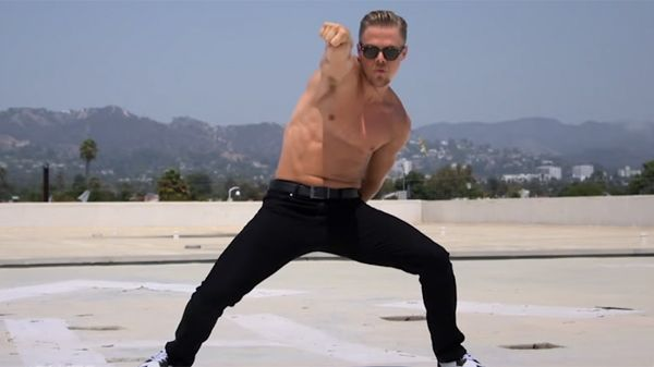 And Now We Bring You Shirtless Derek Hough Doing The Nae Nae To Celebrate 'Dancing With The Stars'