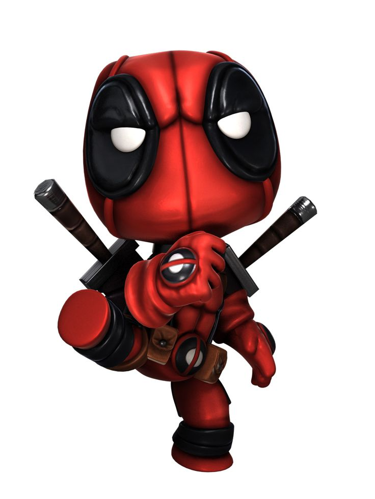 Deadpool- Little Big Planet style