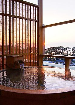 Doi hot spring, Shizuoka, Japan....would love to visit one of these
