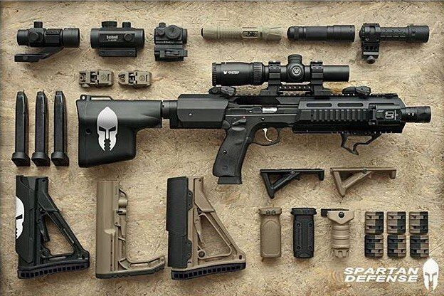 Top Shelf! Via @spartandefense |SLINGERS.CLUB A small world of possibilities…