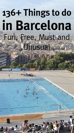 136+ Things to do in Barcelona! Everything from Free Things To Do, to Unusual, Fun and the Must Do's to enjoy the Catalan Capital! Enjoy!