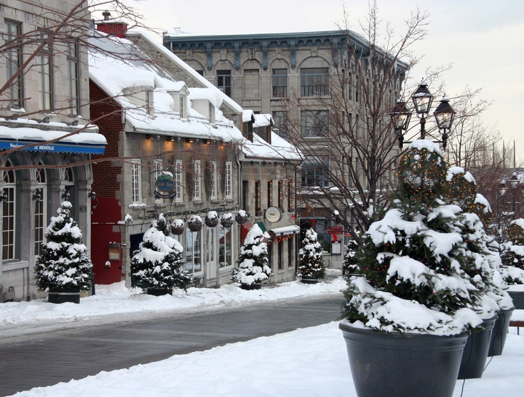 Old Montreal - winter