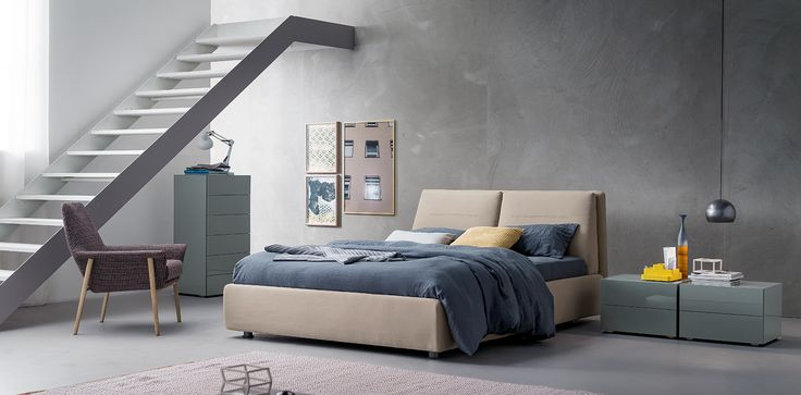 Twist #letto #bed #letto imbottito #padded bed