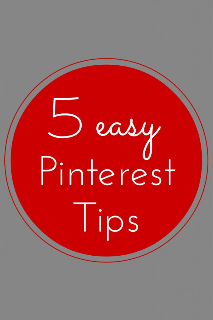 5 easy Pinterest tips to gain more followers