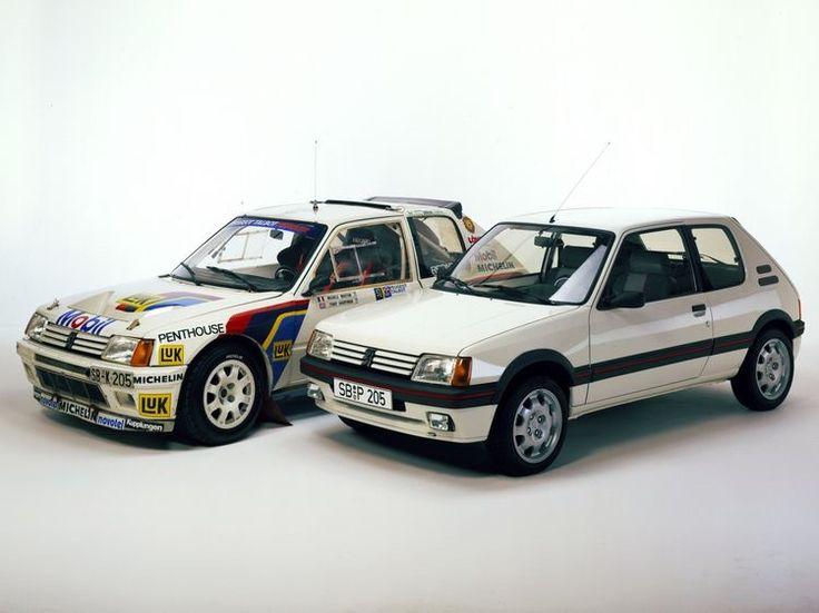 T16 & GTI #dadriver  #Peugeot #205T16 #205GTI @peugeotes
