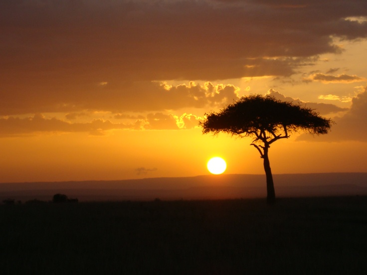 I wish I could go back to Kenya this summer to see the amazing sunsets!