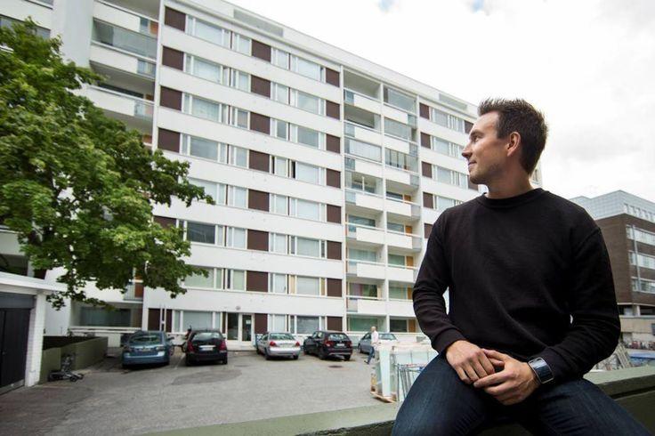 Lauri Riekki, 27, on jo ostanut oman omistusasunnon sekä kaksi ensimmäistä sijoitusasuntoaan Turun keskustasta.