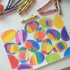 Всеми любимый  граттаж, готовимся к Пасхе . Часть наших волшебных рисунков в этой технике по тегу #артёмкин_граттаж . Чтобы нарисовать рисунок в технике граттаж, нужно: - белая бумага повышенной плотности (или картон) - цветные восковые мелки - гуашь - жидкость для мытья посуды - кисточка - любой острый предмет (деревянная шпажка, зубочистка, спица и т.п.) 1. Раскрашиваем рисунок восковыми мелками, тщательно ). 2. Смешиваем 3 к 1, гуашь с жидкостью для мыться посуды. Покрываем рисунок...